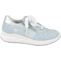 Sapatos Criança Sapatilhas Superfit 06061858500 Prateado,Azul