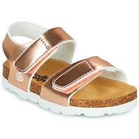 Sapatos Rapariga Sandálias Citrouille et Compagnie BELLI JOE Ouro