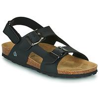 Sapatos Rapaz Sandálias Citrouille et Compagnie KELATU Preto