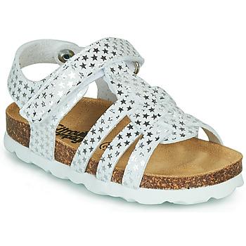 Sapatos Rapariga Sandálias Citrouille et Compagnie MALIA Branco