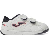 Sapatos Criança Sapatilhas Joma Zapatillas  Ginkana Jr 2032 Blanco-Marino Branco