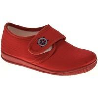 Sapatos Rapaz Chinelos Cumbres 20701 Rojo