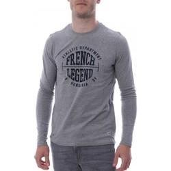 Textil Homem T-shirt mangas compridas Hungaria  Cinza
