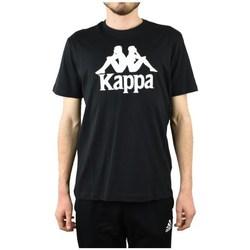 Textil Homem T-Shirt mangas curtas Kappa Caspar Tshirt Preto