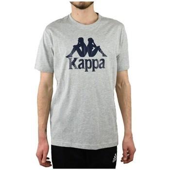 Textil Homem T-Shirt mangas curtas Kappa Caspar Tshirt Cinzento