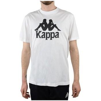 Textil Homem T-Shirt mangas curtas Kappa Caspar Tshirt Branco