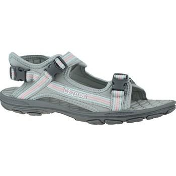 Sapatos Criança Sandálias Kappa Rusheen K Cinzento