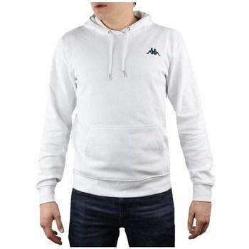 Textil Homem Sweats Kappa Vend Hooded Branco