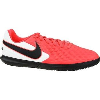 Sapatos Criança Chuteiras Nike Tiempo Legend 8 Club IC JR Branco, Preto, Vermelho