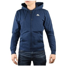 Textil Homem Sweats Kappa Veil Hooded Azul marinho