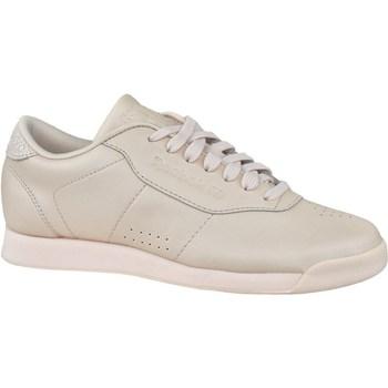 Sapatos Mulher Sapatilhas Reebok Sport Princess Lthr Cor bege