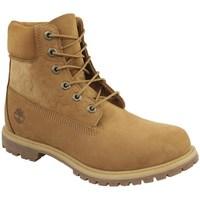 Sapatos Mulher Sapatilhas de cano-alto Timberland 6 IN Premium Boot W Cor de mel