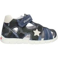 Sapatos Rapaz Sandálias Balocchi 103306 Azul