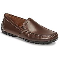 Sapatos Homem Mocassins Geox MONET Castanho
