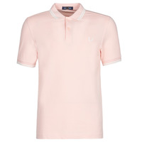 Textil Homem Polos mangas curta Fred Perry TWIN TIPPED FRED PERRY SHIRT Rosa