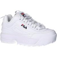 Sapatos Criança Sapatilhas Fila 1010567 1FG DISRUPTOR KD Blanco