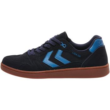 Sapatos Sapatilhas Hummel Baskets  liga gk bleu foncé