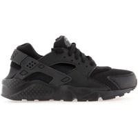 Sapatos Rapaz Sapatilhas de corrida Nike Huarache Run GS Preto