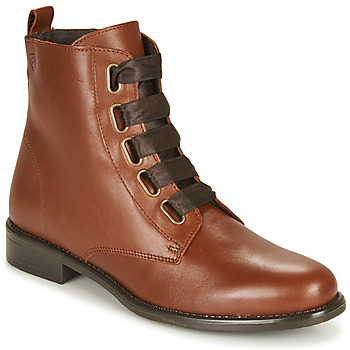 Sapatos Mulher Botas baixas Betty London NAMA Camel