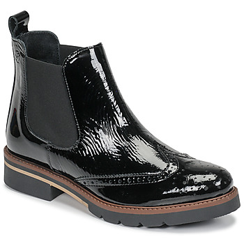 Sapatos Mulher Botas baixas Betty London NAVA Preto / Verniz