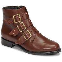 Sapatos Mulher Botas baixas Betty London LYS Camel