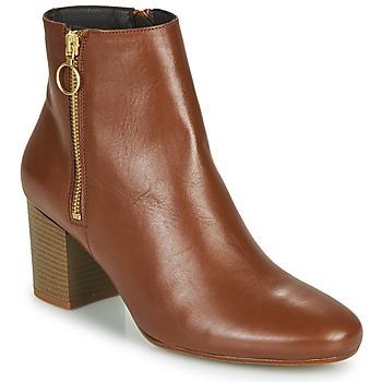 Sapatos Mulher Botins Betty London NILIVE Camel