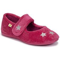Sapatos Rapariga Chinelos Citrouille et Compagnie LANINOU Bordô