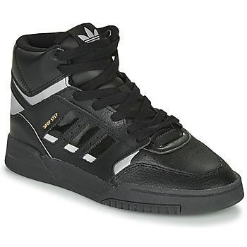 Sapatos Sapatilhas adidas Originals DROP STEP Preto / Prateado