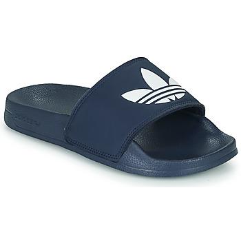 Sapatos Criança chinelos adidas Originals ADILETTE LITE J Marinho / Branco