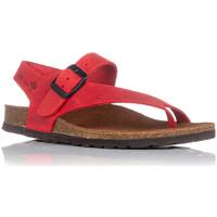Sapatos Mulher Sandálias Interbios 7162 Vermelho