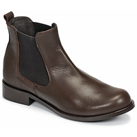 Sapatos Mulher Botas baixas So Size NITINE Castanho