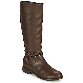 Sapatos Mulher Botas So Size AURELIO Castanho