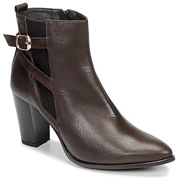 Sapatos Mulher Botins So Size AURELIO Castanho