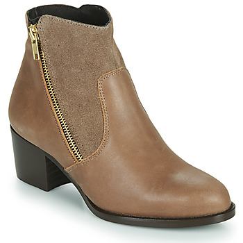 Sapatos Mulher Botins So Size FELICIO Camel