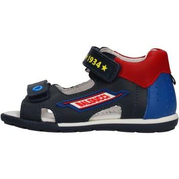 Sapatos Rapaz Sapatos aquáticos Balducci - Sandalo blu/rosso CITA3604 BLU