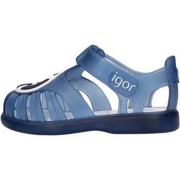 Sapatos Rapaz Sandálias Igor - Gabbietta blu S10249-063 BLU
