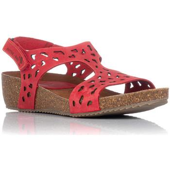 Sapatos Mulher Sandálias Interbios 5372 Vermelho