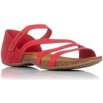 Sapatos Mulher Sandálias Interbios 4476 Vermelho