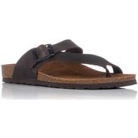 Sapatos Mulher Sandálias Interbios 7119 Castanho