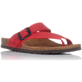 Sapatos Mulher Sandálias Interbios 7119 Vermelho