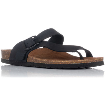 Sapatos Mulher Sandálias Interbios 7119 Preto