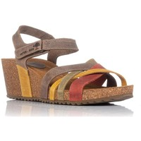 Sapatos Mulher Sandálias Interbios 5637 Laranja