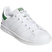 Sapatos Criança Sapatilhas adidas Originals Stan Smith Junior Branco