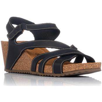 Sapatos Mulher Sandálias Interbios 5633 Preto