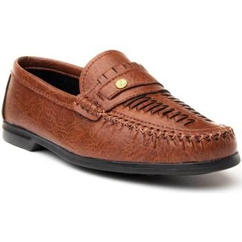 Sapatos Homem Mocassins Montevita 65799 LEATHER