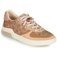 Sapatos Mulher Sapatilhas Coach CITYSOLE Conhaque / Bege / Cru