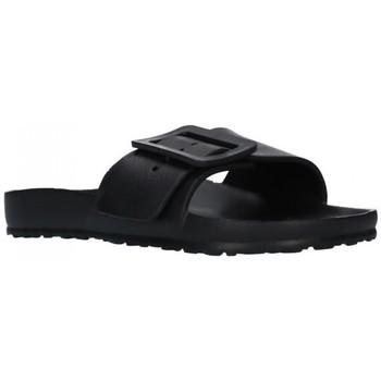 Sapatos Mulher Chinelos Kelara K02022 Mujer Negro noir