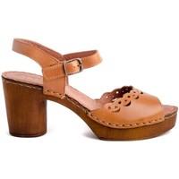 Sapatos Mulher Sandálias Zap-In 9182771 Castanho