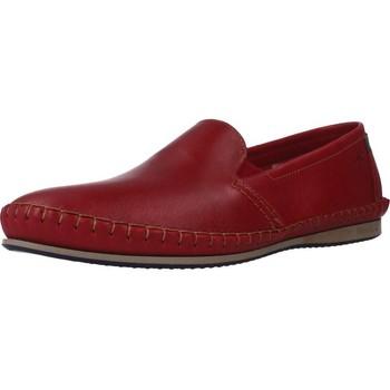 Sapatos Homem Mocassins Fluchos 8592F Vermelho