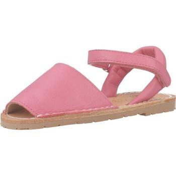 Sapatos Rapariga Sandálias Ria 20090 Rosa